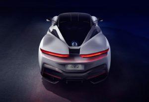 Pininfarina unveiled its Electric Vehicle at Geneva motor show