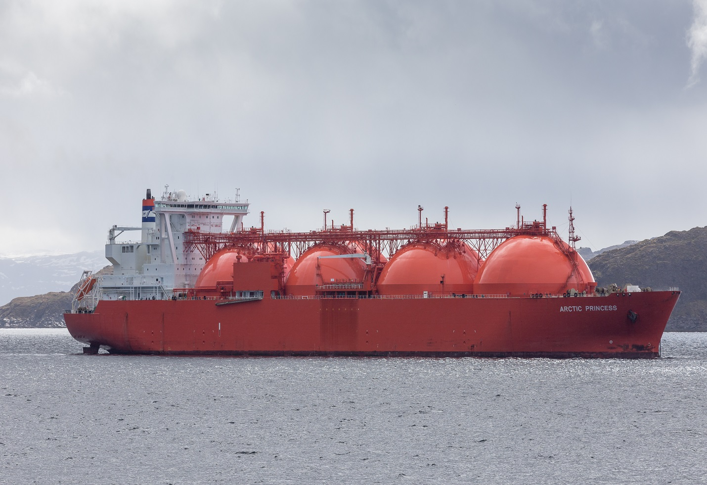 LNG import rises to record levels. Up by 6.8%