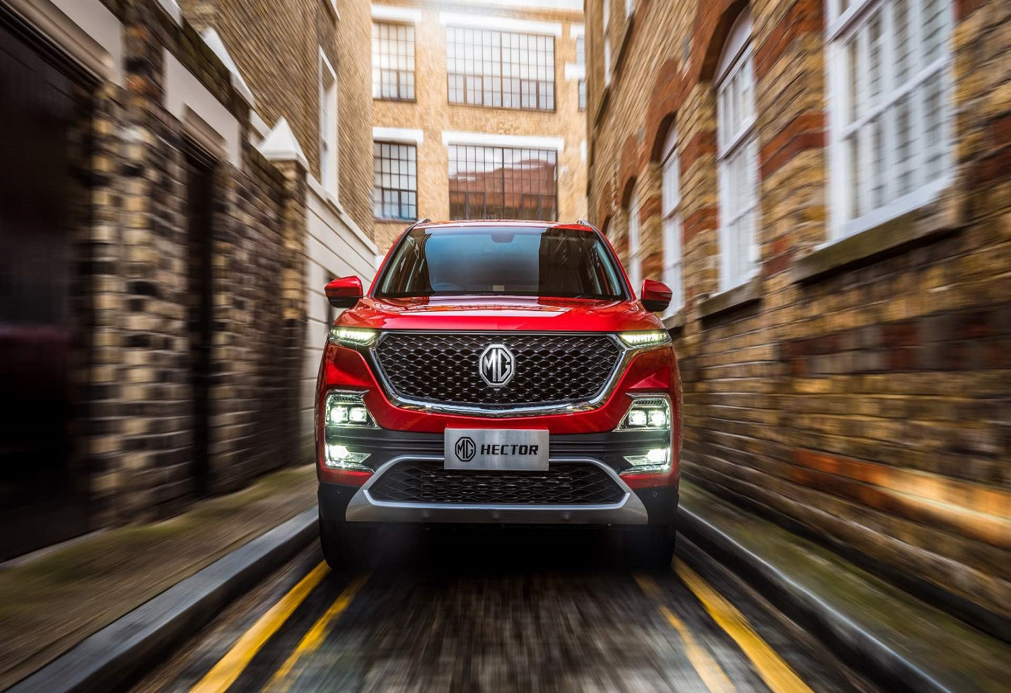 MG drives in Hector in the crowded SUV market
